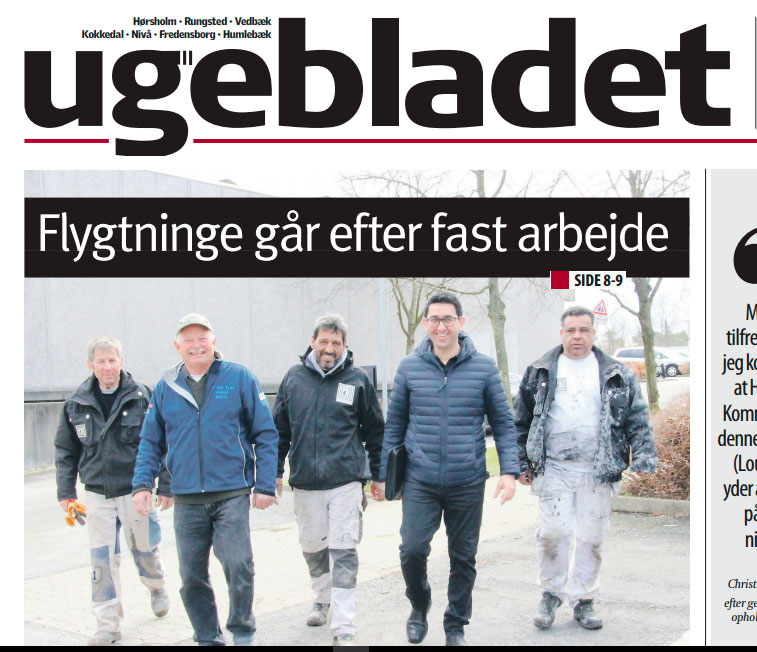 Artikel om Inside Knowledge i Ugebladet